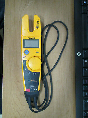 Fluke T5-600 Voltage, Continuity and Current Tester with Open Jaw