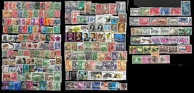 British Commonwealth, over 200 different mint and used, all eras (Z001)