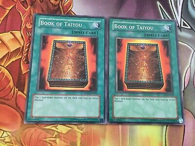 YUGIOH BOOK OF TAIYOU COMMON MIXED SETS PGD-034//CP02-EN017 CLASSIC SPELL