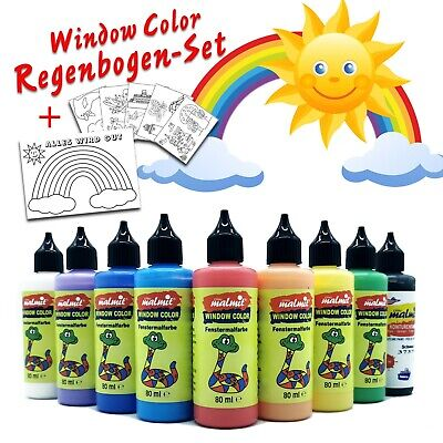 Window Color - Regenbogen-Set - ALLES WIRD GUT