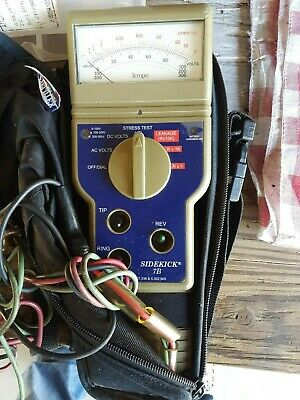 Used Sidekick Telecom Test Meter