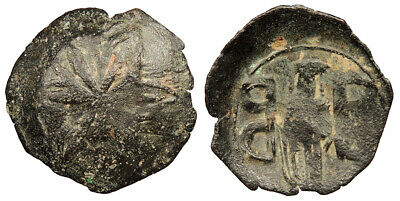 BYZANTINE Andronicus II, Palaeologus AE Trachy 1282-1328 A.D. Fine