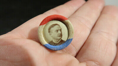 1890a PA Pennsylvania Governor Robert Pattison Lapel Button Pin