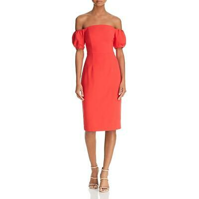 Black Halo Womens Madigan Sheath Special Occasion Party Cocktail Dress BHFO 4523
