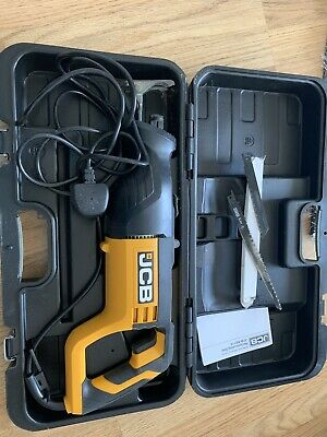 Jcb Reciprocating Saw With Blades And Box & Manual