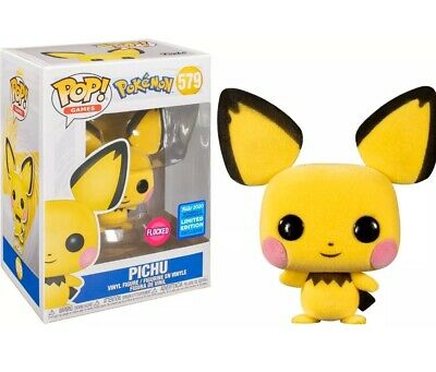 Funko Pop Pichu Flocked #579 Pokemon Wondercon Exclusive Confirmed, Sold Out!