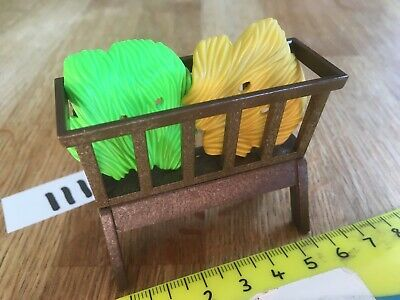 straw bed /& base Playmobil New Christmas Spares 7897 Wrapped Baby in Manger