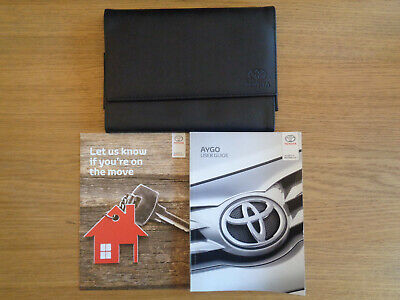 Toyota Aygo Owners Handbook/Manual and Wallet 14-19