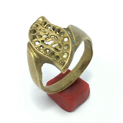 RARE ANCIENT ROMAN BRONZE RING LEGIONARY Extremely RING VERY HIGH