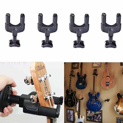 PACK of 4 Guitar Hangers Hook Holder Wall Mount Hanger with Screws US STOCK