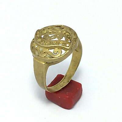 ANCIENT Rare Roman RING Bronze Legionary Old Extremely Authentic