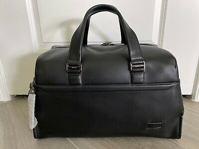 NEW Tumi Harrison Rockwell leather day duffel bag Carry-on Travel Luggage #63025
