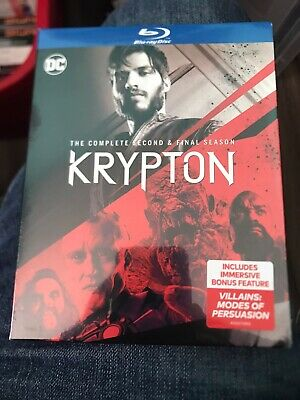 Krypton The Second And Final Season Blu Ray New And Sealed