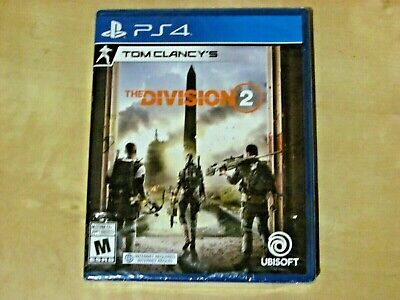 TOM CLANCY'S THE DIVISION  2 (Sony PlayStation 4 *NEW)