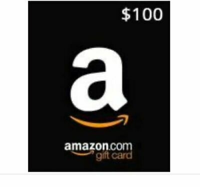 $100 Amazon Physical Gift Card ~ Super Fast Free Shipping W/ Tracking