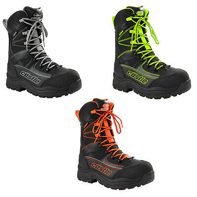 Mens Castle X Force 2 Snowmobile Boots Winter Snow Waterproof Riding Boots