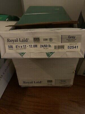 Wausau Paper Royal Laid 500 Sheets!!! 24 lb