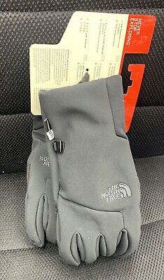 The North Face Womens Apex Plus Etip Gloves Size Large  Black NEW Retail $55