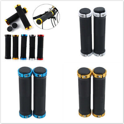Mountain Bike BMX MTB Handle Bar Grips Scooter Soft 1 Pair Bicycle Parts Cycle