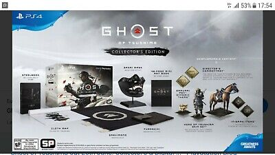 """Ghost Of Tsushima Collector's Edition Ps4 Ita - Pre Ordine """"Sold Out"""""""