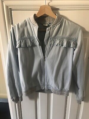 Girls Denim Bomber Jacket From Next Age 12 Years