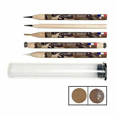 Le Crayon a Andre - Coin Cleaning 5 Pencil Set