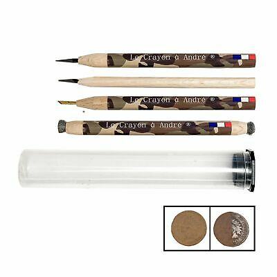 Complete set of Andre's pencils, fantastic cleaning pencils for coins and relics