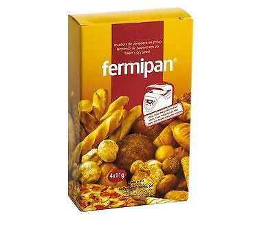 Instant Yeast Fermipan Bakery Bread *  4x11g Cooking * * Gluten free *