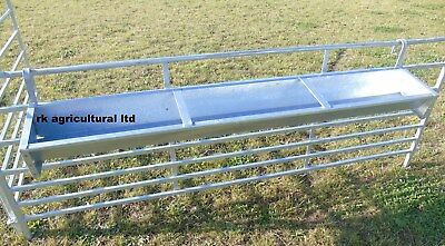 6ft Hook over galvanised feed trough