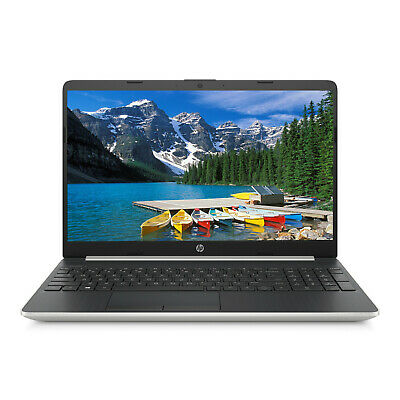 "NEW HP 15.6"" HD Intel i3-8145U 3.9GHz 8GB RAM 1TB HDD Webcam BT Win 10 Laptop"