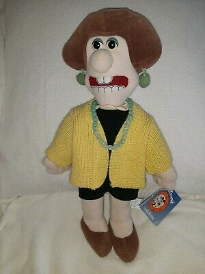 Wallace And Grommit Wendolene Aardman Plush With Tag 1989