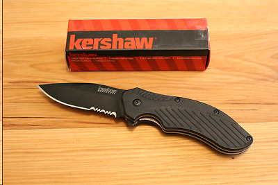 "Kershaw Clash Assisted Opening Knife (3.25"" Bead Blast) 1605"