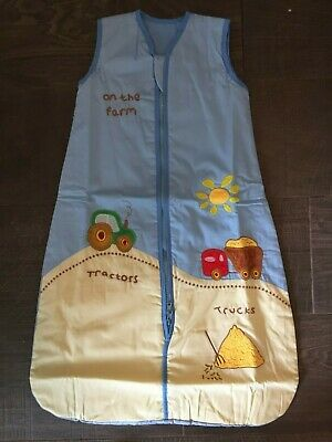 Baby Sleeping Bag different togs and sizes boys on the farm