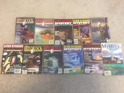 Huge Lot of Alfred Hitchcock's Mystery Magazines 1992