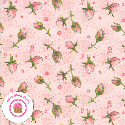 Moda ABBY ROSE 48672 12 Pink Floral ROBIN PICKENS Quilt Fabric