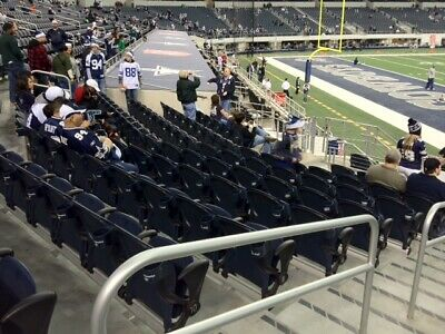 4 Dallas Cowboys vs Pittsburg tickets! Field Level 7 Rows from field!