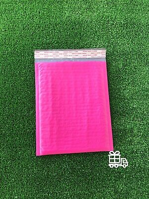 Bubble Mailers Any Size Padded Envelope with hot pink, blue and teal