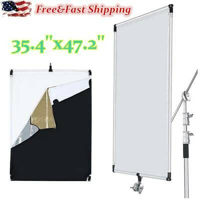 Pro Studio Solutions 35x47'' Sun Scrim Collapsible Frame Diffusion Reflector Kit