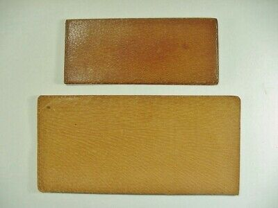 Two Different Brown Leather Document Holder / Folders