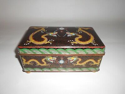 Cloisonne Lided Box.