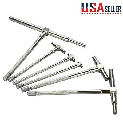 "6/"" Telescopic Gauge Inside Micrometer Measurement Bore Engineers 6Pcs 5//16/"""