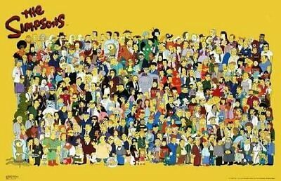 SIMPSONS - CHARACTER COLLAGE POSTER 24x36 - 41093