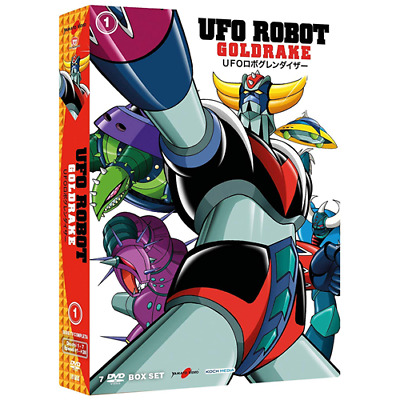 UFO ROBOT Goldrake - Vol. 1 (7 Dvd)