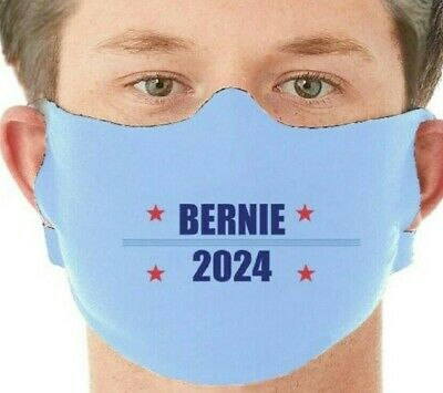3 Pack Bernie Sanders Face Mask Adult Washable Made in USA, Fabric Mask