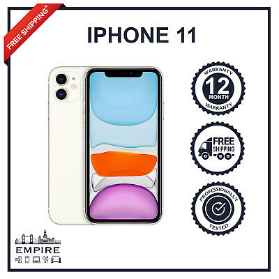 Apple iPhone 11 - 64GB 128GB 256GB - Unlocked Smartphone Various Colours