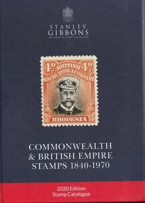Stanley Gibbons 2020 Commonwealth & British Empire stamps 1840-1970 P.D.F