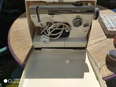 Vintage Frister + Rossmann Cub 7 Sewing Machine Cased Good Condition. Free post