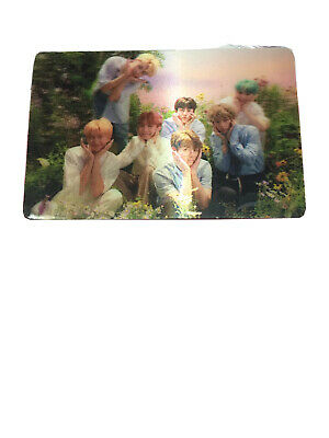 BTS Special Photocard Love Yourself Her Lenticular