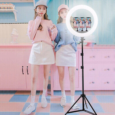 """18"""" 65W Dimmable LED Ring Light Kit With For Makeup Phone Camera TikTok Vedio"""