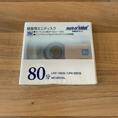 Md Minidisc Mark Of Value Blue